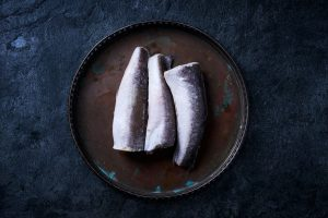 Frozen young Cod